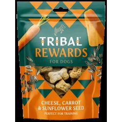TRIBAL Rewards Ser, Marchewka i Nasiona słonecznika 125g - Ciastka dla psa domowej produkcji