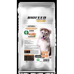 Grain FreeBiofeed Junior Breeder Line - karma dla szczeniąt z indykiem i łososiem 10 kg