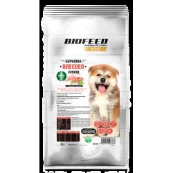 Biofeed Junior Grain Free Breeder Line - karma dla szczeniąt z pstrągiem i łososiem 10 kg