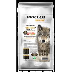 Biofeed Ultra Premium All Life Stages Breeder Line - karma dla psa z indykiem, łososiem, kaczką i łupaczem