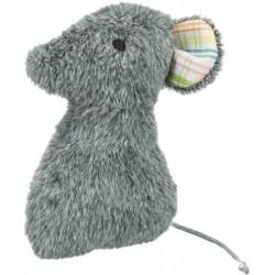 TRIXIE Mysz zabawka dla kota plusz 12 cm z walerianą