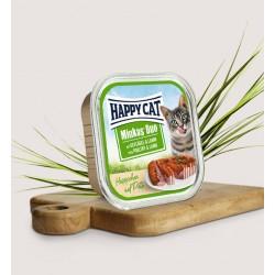 HAPPY CAT Pasztet drobiowy z jagnięciną