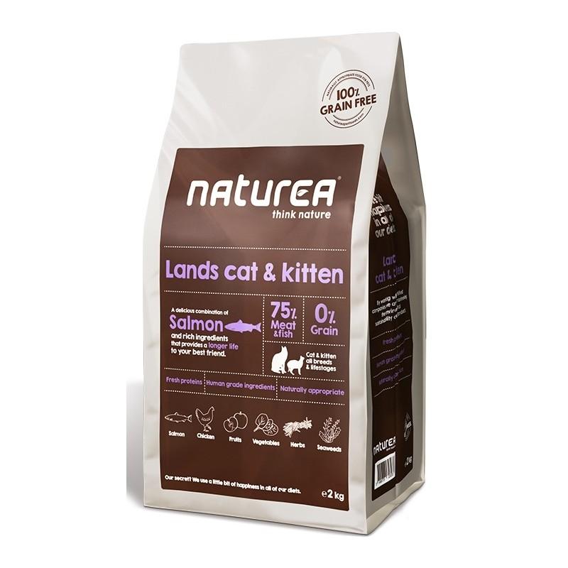 Naturea Grain Free Lands Cat & Kitten
