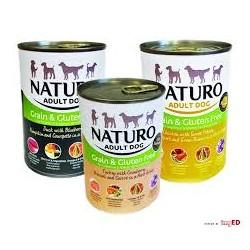 ZESTAW Naturo - mix smaków puszka dla psa 6x390g