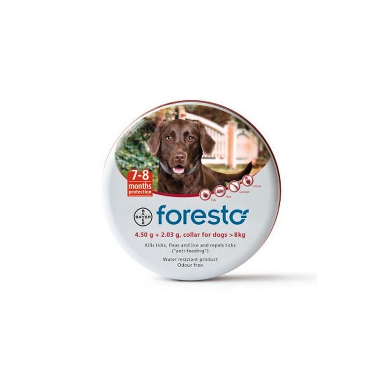 Foresto Obroża Dla Psów 70 cm o masie ciała od 8 Kg