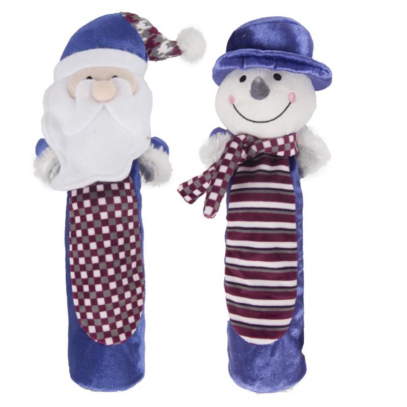 Zabawka Świąteczna Mikołaj (butelka) - Zabawka dla psa