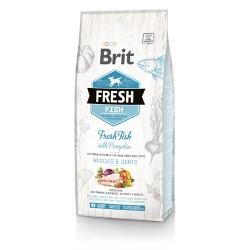Brit Fresh Karma dla dorosłych psów Ryba/Dynia