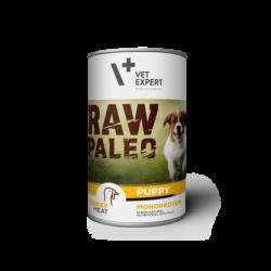 VetExpert RAW PALEO dla Szczeniąt - karma mokra dla psów