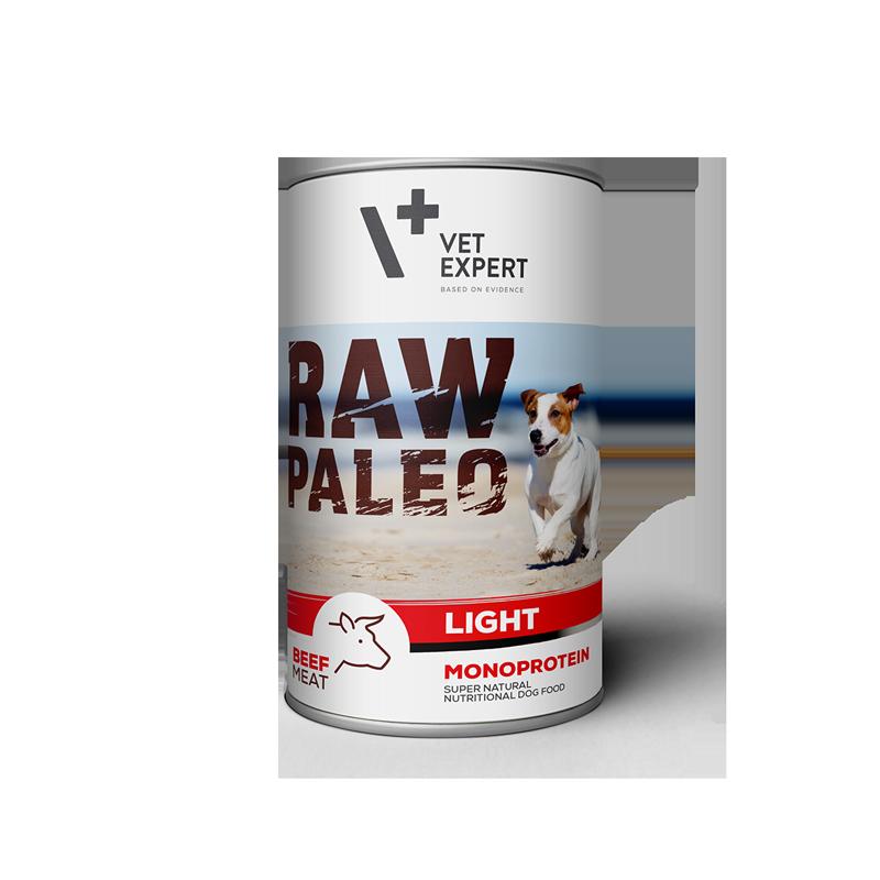 VetExpert RAW PALEO Adult - niskokaloryczna karma mokra dla dorosłych psów