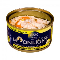 Moonlight Dinner Nr 5 - Karma mokra dla kota / Kurczak, kałamarnic, marchew i dynia