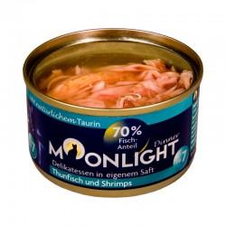 Moonlight Dinner Nr 7 - Karma mokra dla kota / Tuńczyk i krewetki