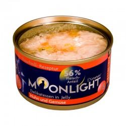 Moonlight Dinner Nr 8 - Karma mokra dla kota / Kurczak i warzywa w galarecie