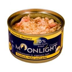 Moonlight Dinner Nr 4 - Karma mokra dla kota / Tuńczyk, kurczak i łosoś