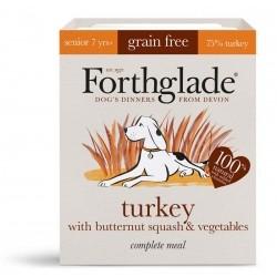 Forthglade - karma mokra dla psa/indyk z dynią piżmową i warzywami